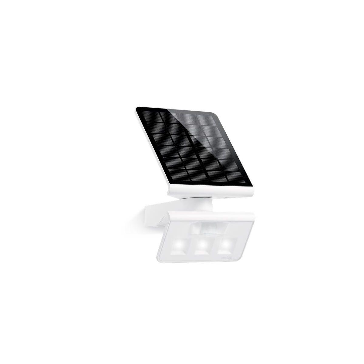 Lampa Solarna Xsolar L S Z Czujnikiem Biały