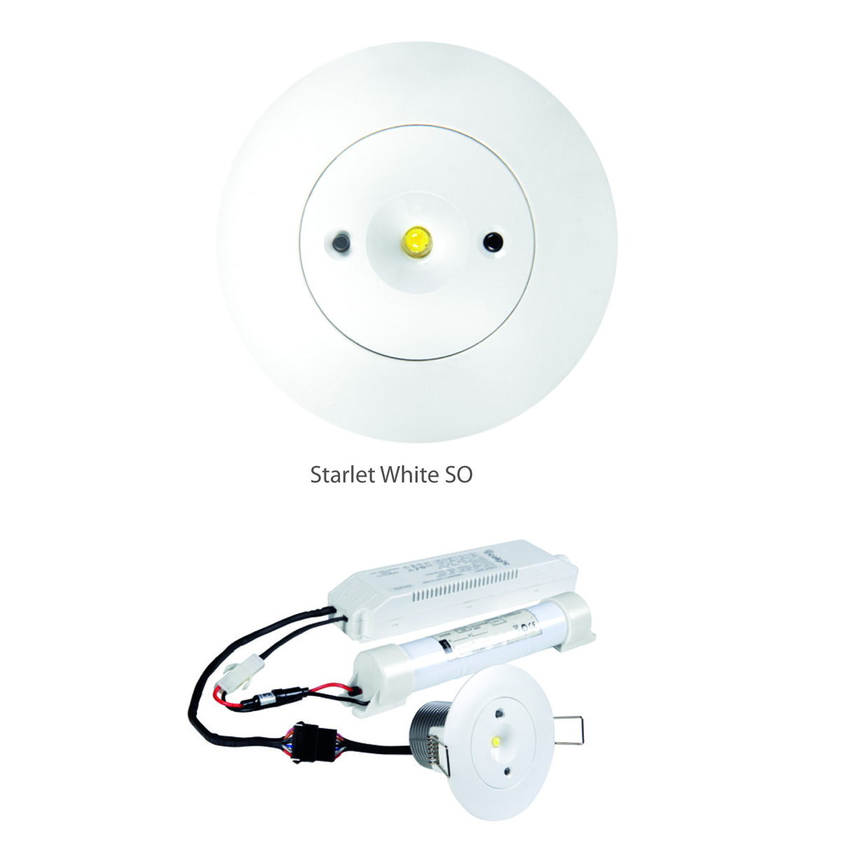 STARLET WHITE LED SO 5W A 3h AT (INLEWA 99614)
