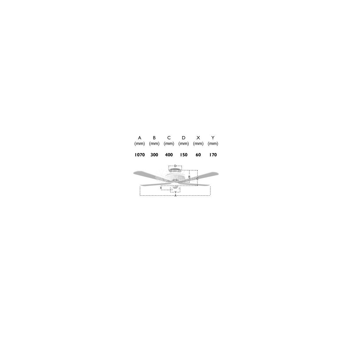 Wentylator sufitowy SIGMA z pilotem ()