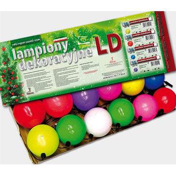 Lampion choinkowe żarówkowe LD