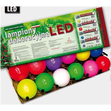 Lampiony choinkowe LZ-LED-LD 10 i 14