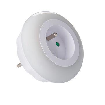 Lampka wtykowa LED z gniazdem