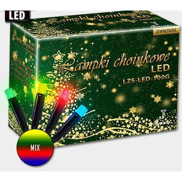 Lampki choinkowe 'sople' LZS-LED-100G - mix