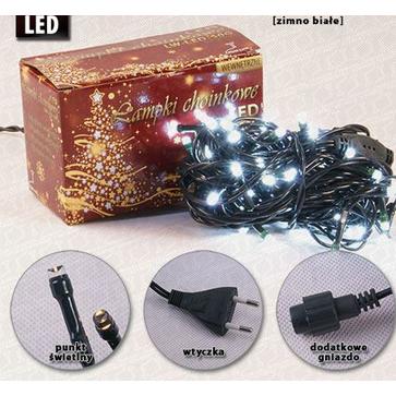 Lampki choinkowe wewnętrzne LW-LED-50G