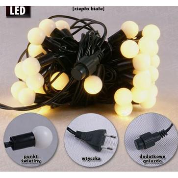 Lampki choinkowe wewnętrzne LW-LED-SBALL-100G