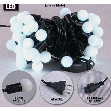 Lampki choinkowe wewnętrzne LW-LED-SBALL-50G