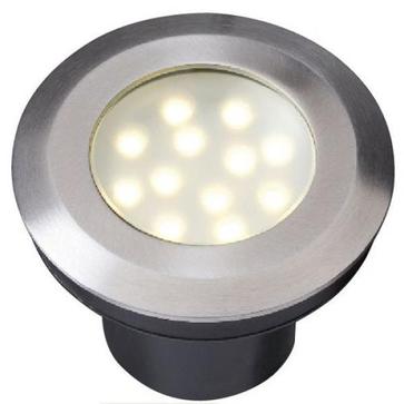 Oprawa basenowa Aureus LED 2W IP68 - barwa ciepła