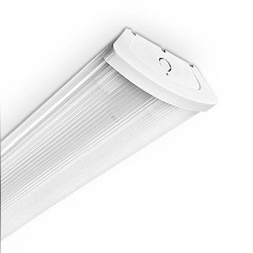 Oprawa kloszowa do tub LED LUMINAstar 2x120 zasilanie jednostronne