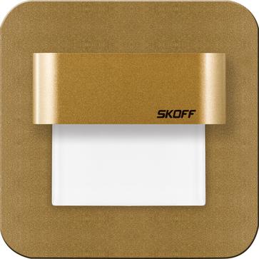 Oprawa LED SALSA Stick IP20 mosiądz mat - barwa ciepła