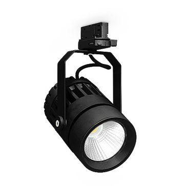Oprawa szynowa SCENA LED 30W czarna neutralna