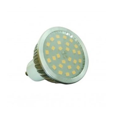 Żarówki LED SMD metal GU10 5W-7W
