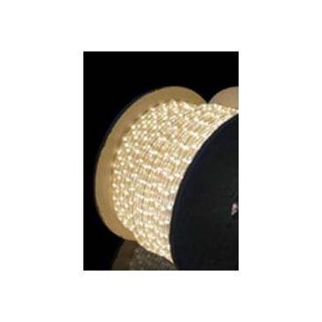 Wąż LED z migającą diodą 1mb -ciepło biały