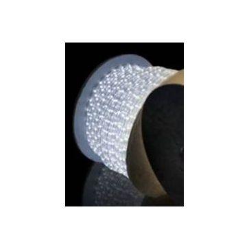 Wąż LED z migającą diodą 1mb -zimno biały