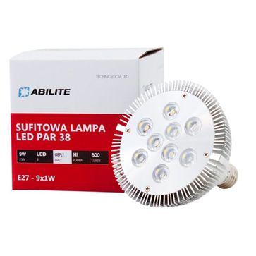 Żarówka POWER LED PAR38 9W E27