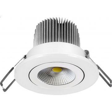 Downlight okrągły LED 230V 12W