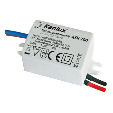 Zasilacz LED ADI 65 3W 350mA/700mA