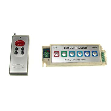 Sterownik LED RGB RF 3x4A z pilotem + panel