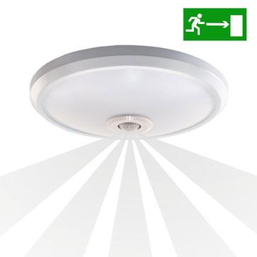 Plafon LED ZONDA 12W DW emergency z czujnikiem PIR