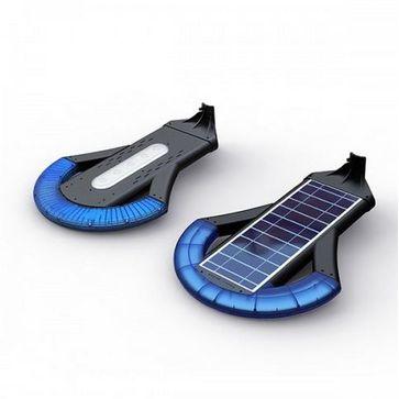 Solarna latarnia uliczna LED SLC-1200 COSMO 12W