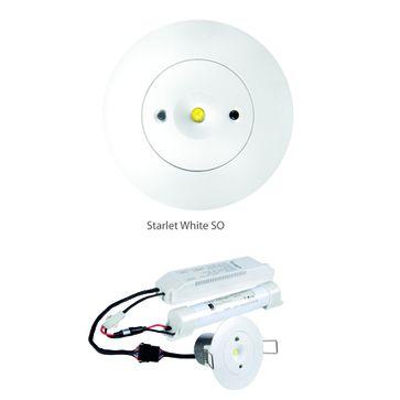 STARLET WHITE LED SO 3W A 3h AT