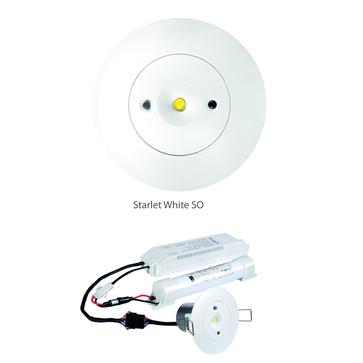 STARLET WHITE LED SO/SC 3W - 5W MT/AT