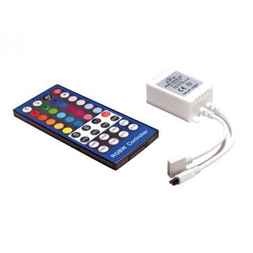 Sterownik do taśm LED5050 RGBW 12/24V IR