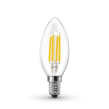 Żarówki Filament LEDSTAR CLASIC E14 4W - 5W