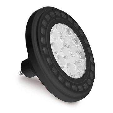 Żarówka LED ES111 12W 45° czarna ciepła