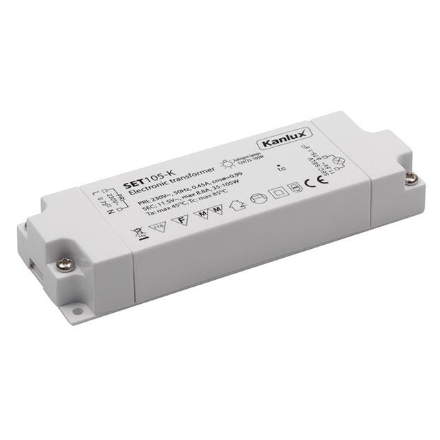 Transformator Elektroniczny Set105 K 12v 35 105w